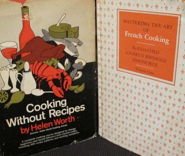cookbooks, who needs recipes to cook