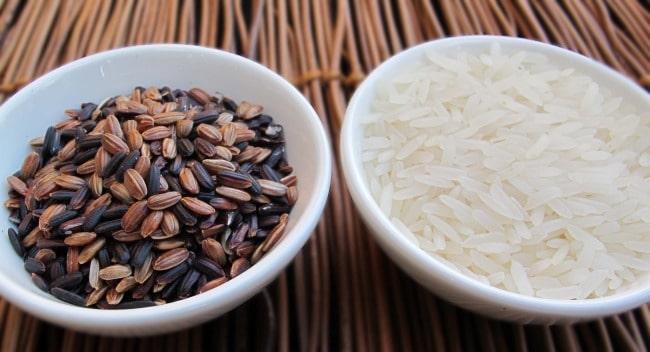 wild, black or mahogany rice