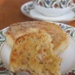 Baketogether English Muffins Re-imagined as Crumpets