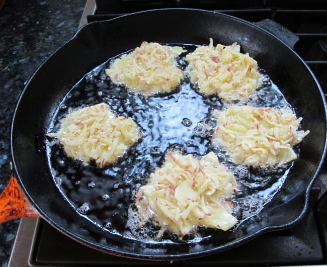 how to cook latkes