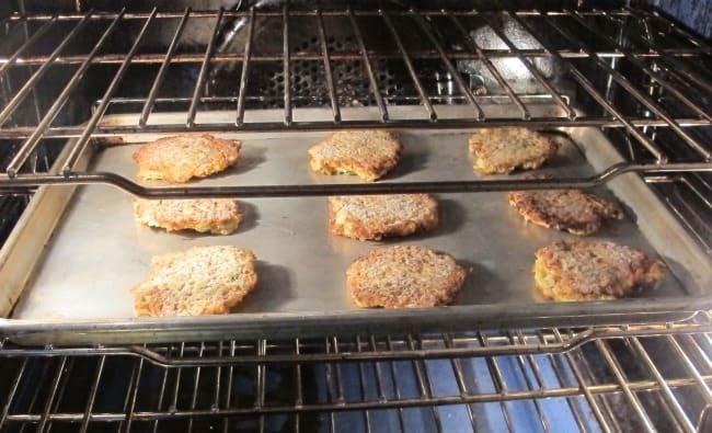 how to reheat latkes in the oven