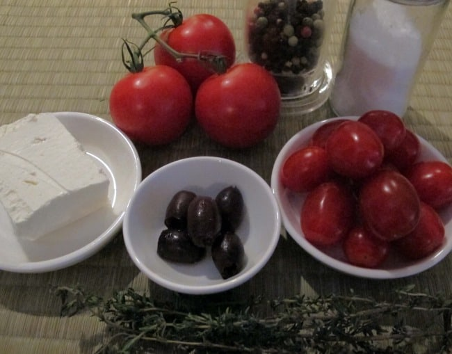 stuffed tomato ingredients