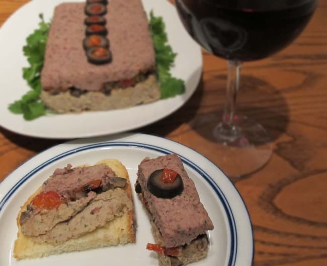 easy recipe for vegetable pate