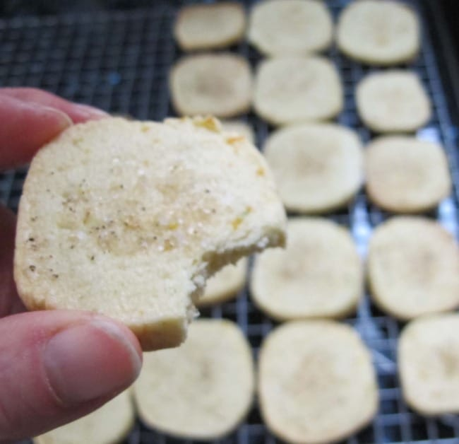 citrus black pepper cookie recipe