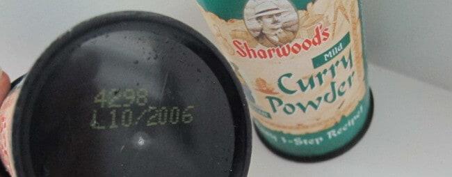 Sharwood's curry powder