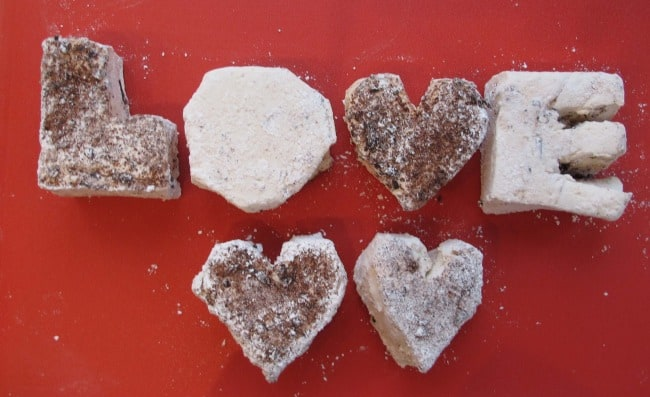 homemade marshmallows for Valentine's Day