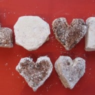 Marshmallows for Valentine's Day