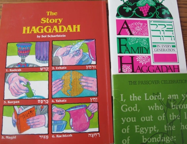 "The Haggadah is the ""guidebook"" for the seder."