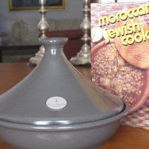 my tajine (tagine) and a Moroccan cookbook
