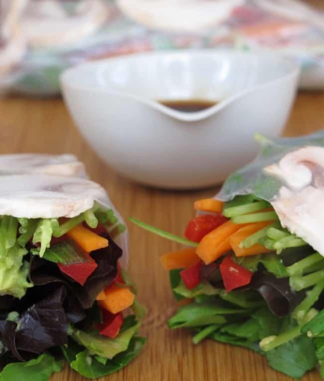 recipe for summer rolls