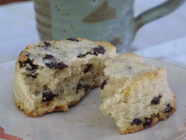 Currant scones are a perfect breakfast, brunch or snack.