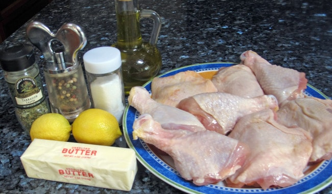 ingredients for baked chicken