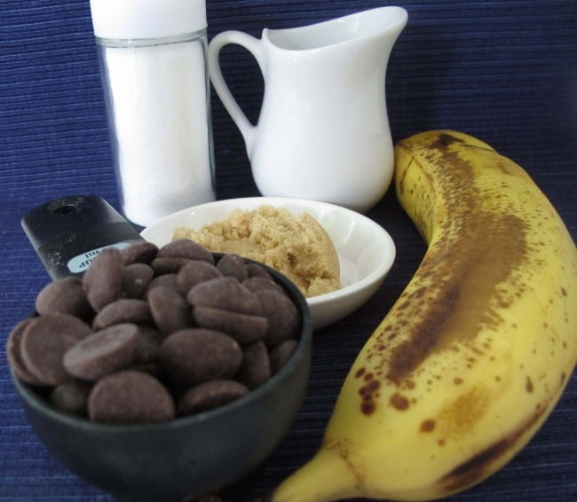 recipe for banana chocolate pudding