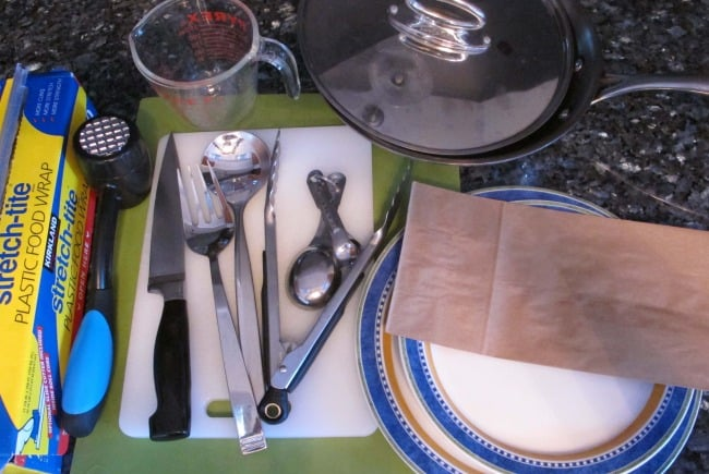 equipment for chicken cutlet recipe