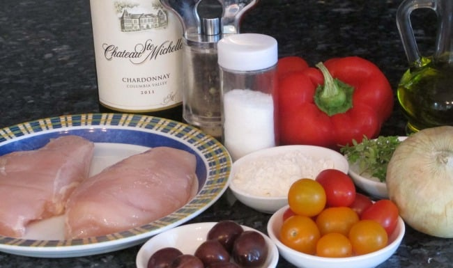 ingredients for boneless chicken breasts recipe