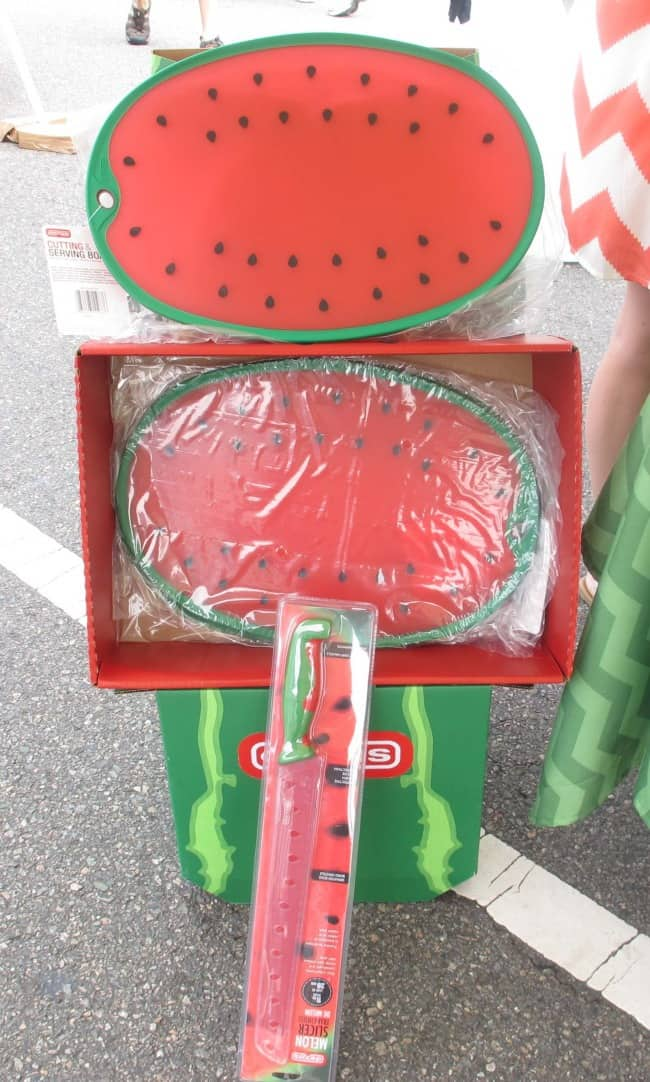 cutting board in shape of watermelon