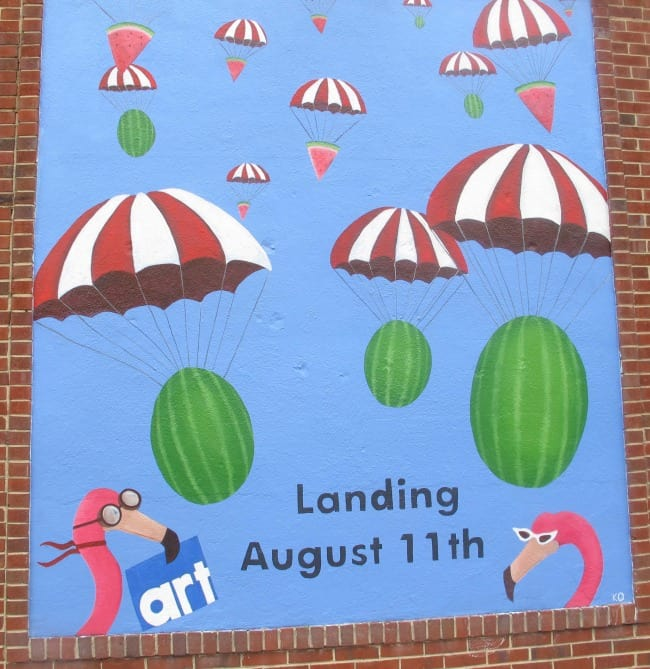 Carytown Watermelon Festival poster