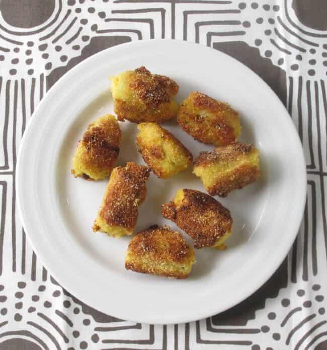 cornmeal crusted okra