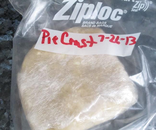 pie crust frozen