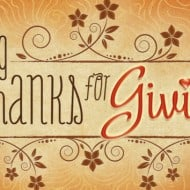 Giving Thanks for Giving
