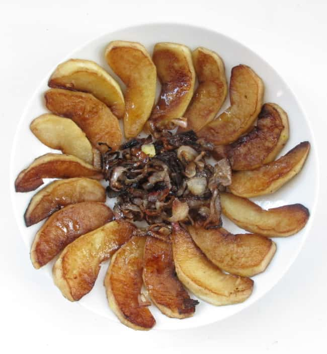 recipe for apple and shallot delight
