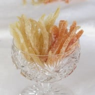 Candied Citrus Peels – Grapefruit and Lemon Sweets