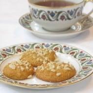 Gluten-free, Sugar-free Almond Cookies