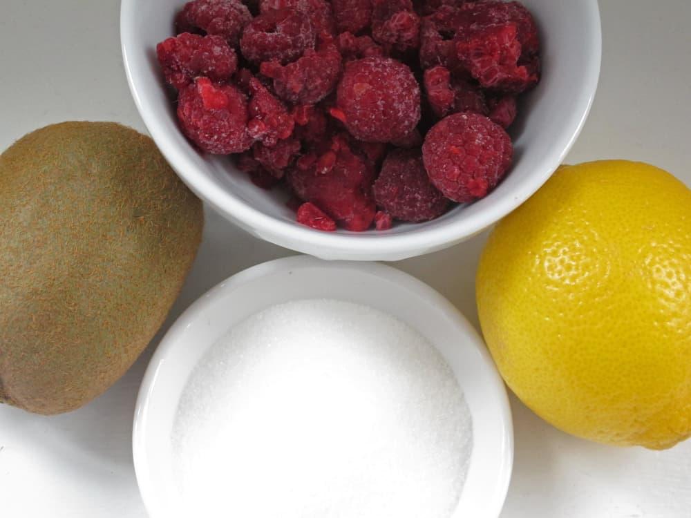 ingredients for raspberry poke cake cupcakes