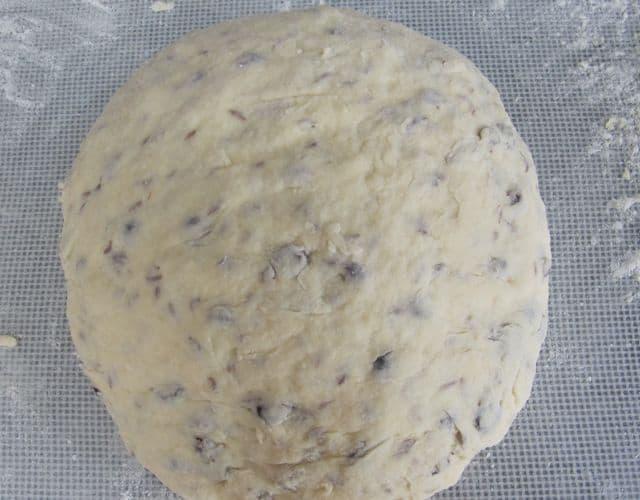Dough for Irish-American soda bread from Sister Mary's recipe