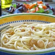 Pasta with Chick Peas – Pasta E Ceci