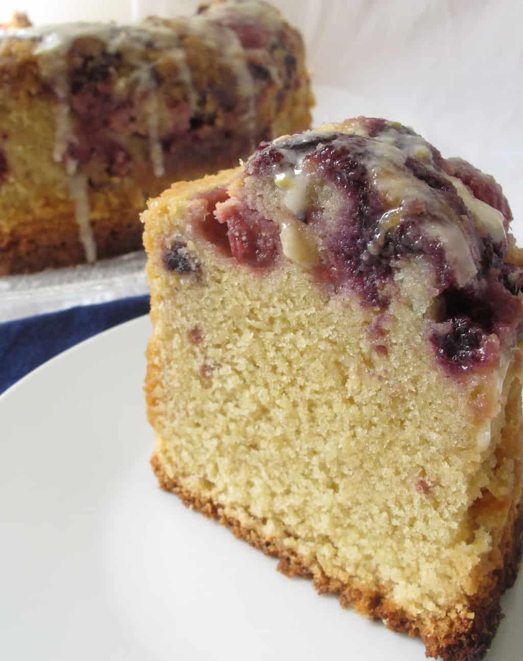 Gluten-Free Berry Delicious Bundt Cake