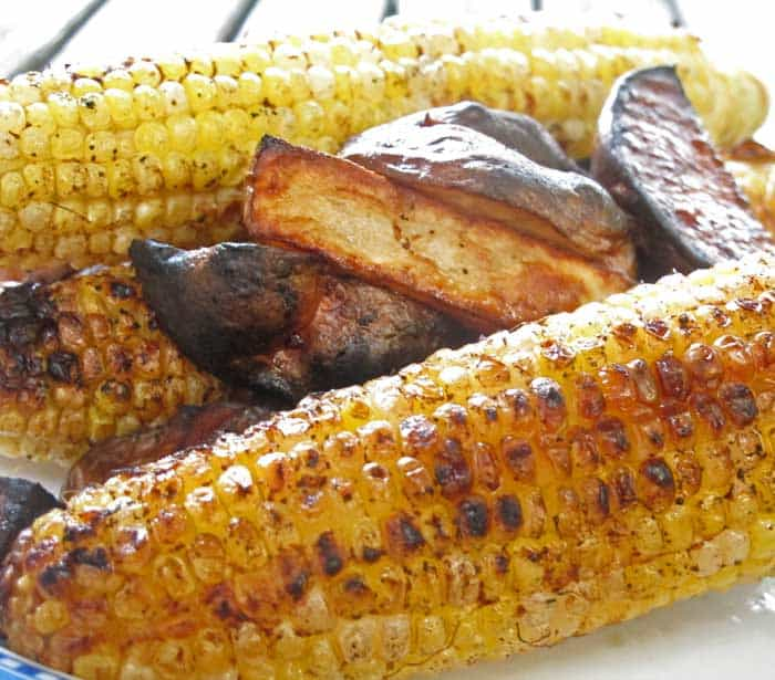 If you like corn-on-the-cob, you'll love this Mexican style corn-on-the-cob.   Mother Would Know