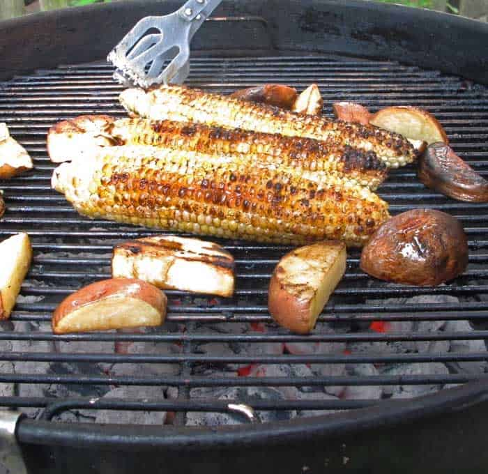 Grilling Mexican style corn-on-the-cob is easy. | Mother Would Know