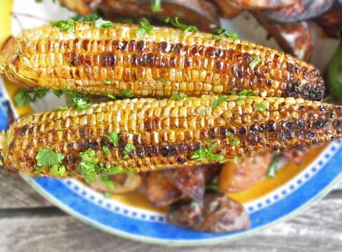 Mexican style corn-on-the-cob makes a fabulous summer treat. | Mother Would Know