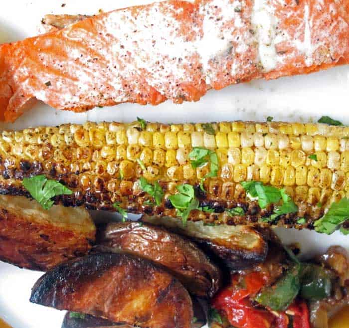 Mexican style corn-on-the-cob is a fabulous grilled summer treat. | Mother Would Know