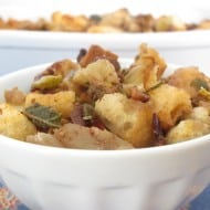 The Best Bread Cube Stuffing