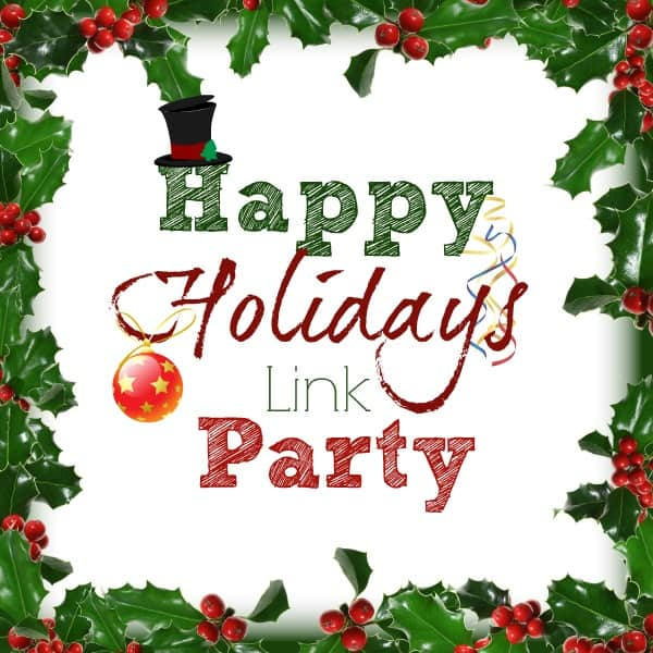 Happy Holidays Link Party | bakeatmidnite.com | #linkparty #recipes #DIY