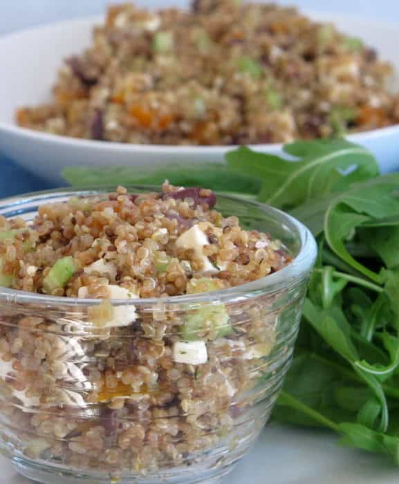 Quinoa and vegetable salad. An easy version that is incredibly healthy and tasty too. | Mother Would Know