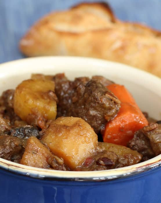 Hearty beef stew, so simple I call it KISS
