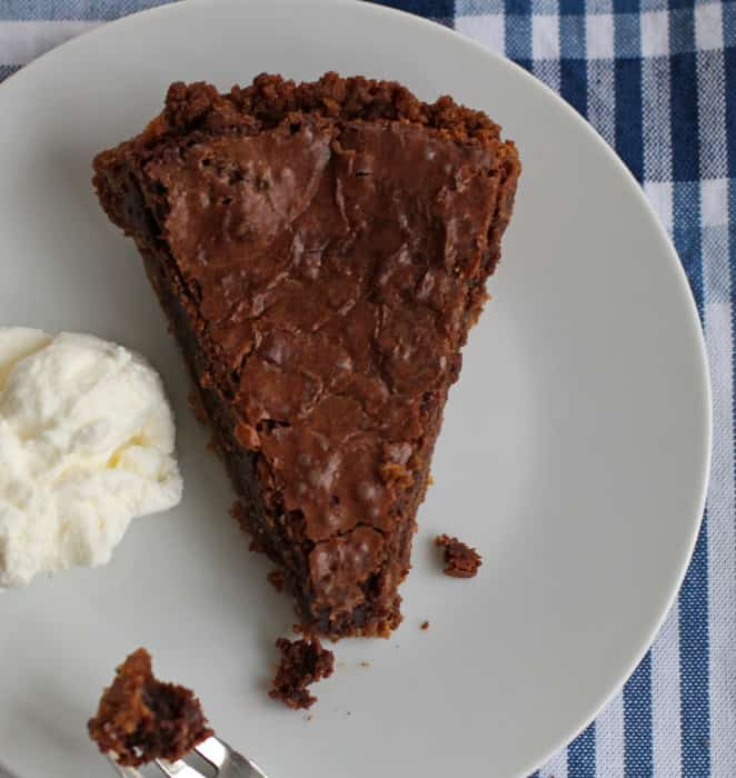 Chocolate chess pie is an incredible dessert - perfect for a special occasion and easy enough for a weeknight.