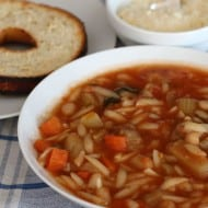 Slow Cooker (Crock Pot) Vegetarian Minestrone