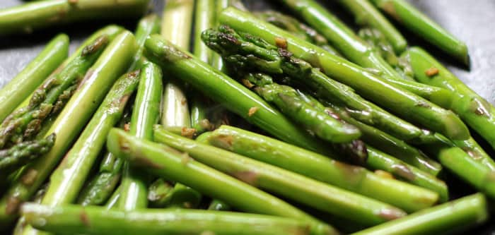 Stir-Fried Asparagus with Ginger and Sesame | Mother Would Know