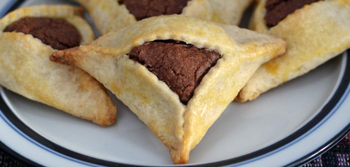 Nutella-filled hamantaschen | Mother Would Know