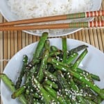 Stir-Fried Asparagus with Ginger and Sesame