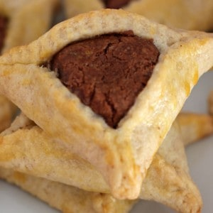 Nutella-Filled Hamantaschen