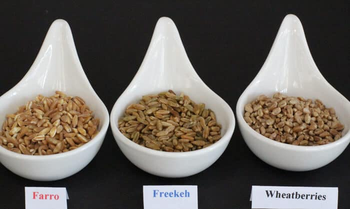 Farro, freekeh, and wheatberries - find out how they differ. | Mother Would Know