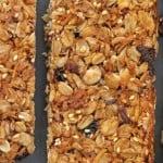 Grown-Up Homemade Granola Bars