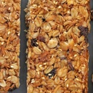 Grown-Up Homemade Granola Bars