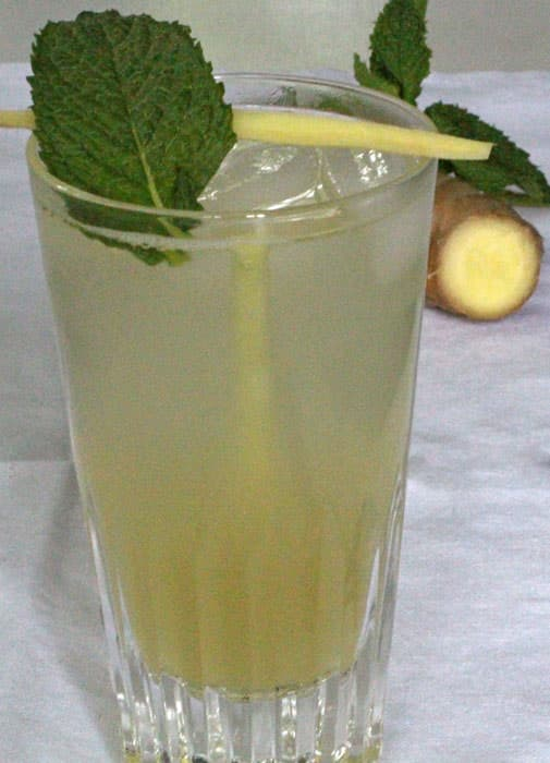 Seasons 52 Ginger Mint Agave Soda (copycat)