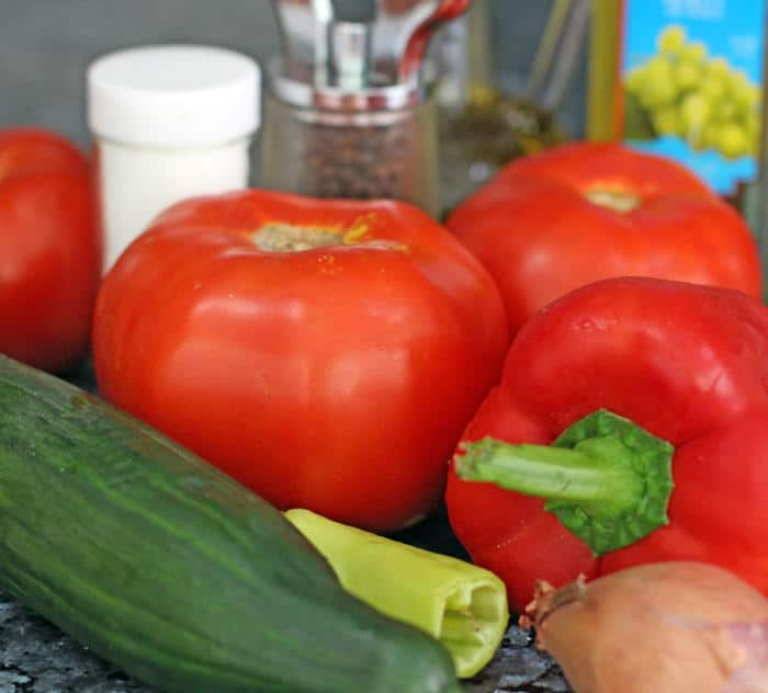 ingredients for gazpacho | Mother Would Know